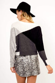 Olivaceous Sweater Grier Colorblock Sweater Multi