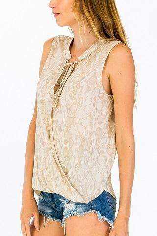 Olivaceous Tops Blouse Eden Wrap Top