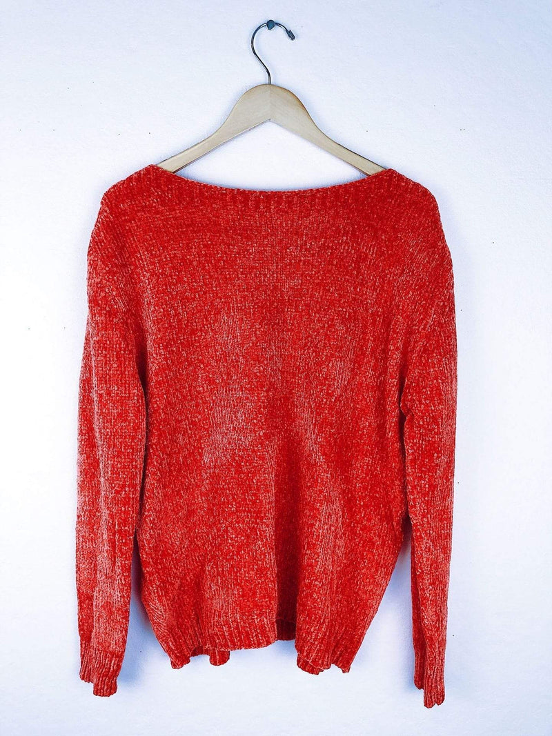 On the Road .. h starlet Sweater Small/Medium / Red / R102A Poppy Sweater Red
