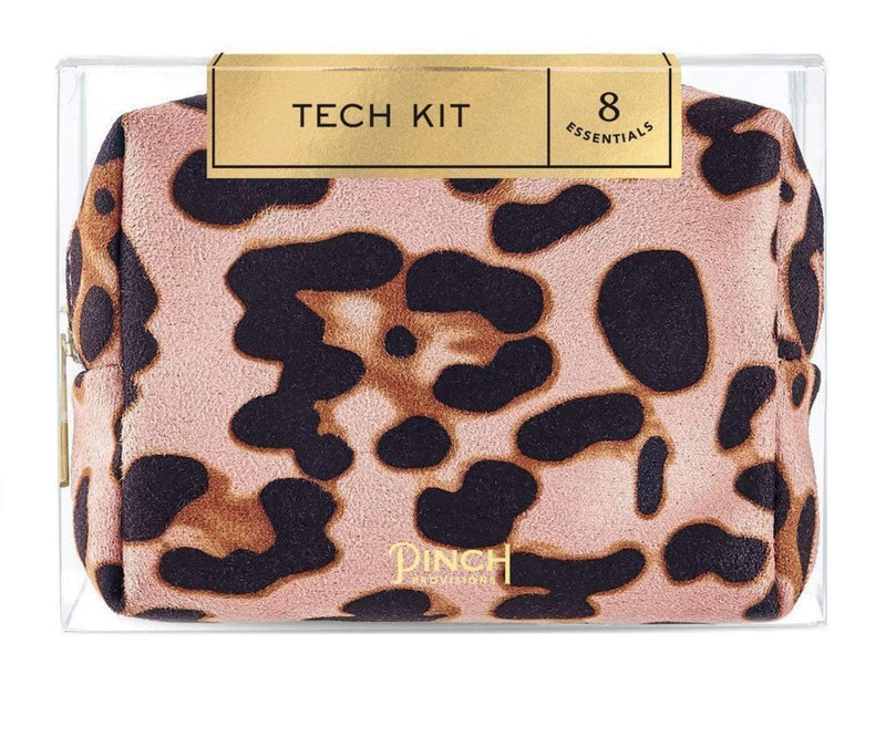 Pinch Provisions Accessories One Size / Multi / MDTECH6LEO Blush Leopard Tech Kit