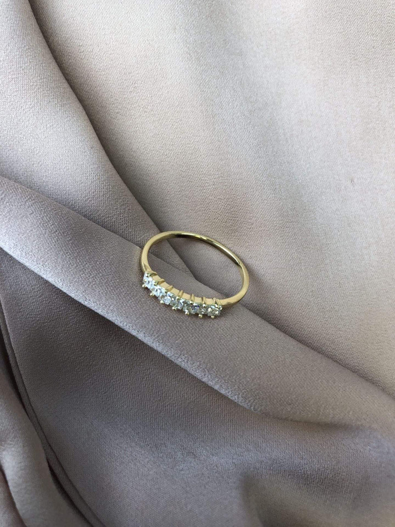 PK Jewlery Ring Size 6 / Gold/925 Maisie Diamond Ring Gold/925