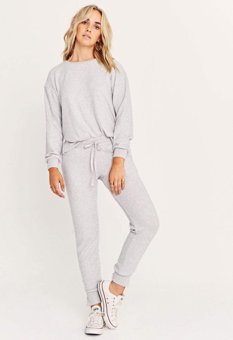 Mawbee Cozy Jogger Heather Grey
