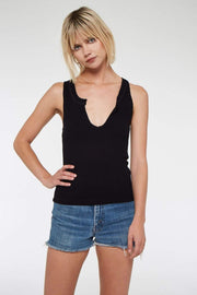 Project Social T Tee Casuals X Small / Black / 4615-TV Inca Rib Tank Top Black