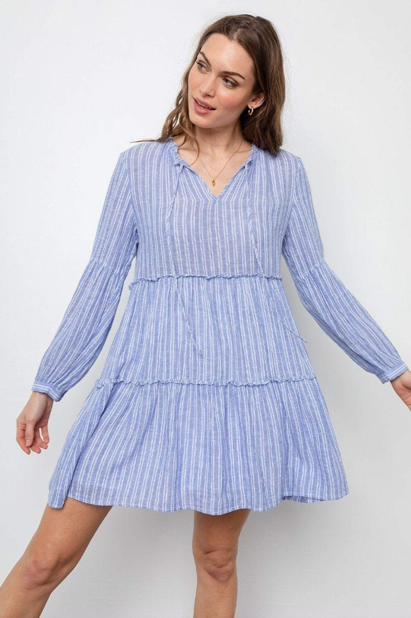 Rails Dress Everly Ludlow Striped Dress Multi