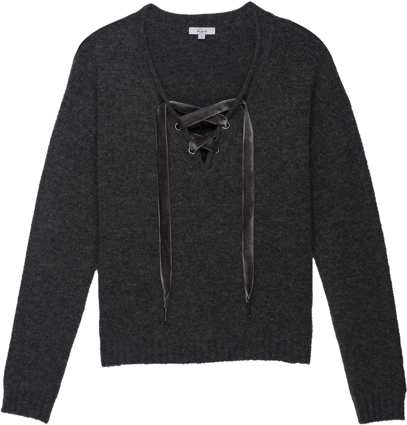 Rails Sweater Small / Charcoal / 822-347-008 Amelia Charcoal Sweater