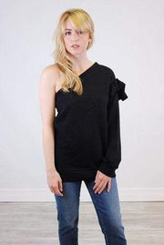 RD Style Sweater Large / Black / 69F060S Riley Sweater
