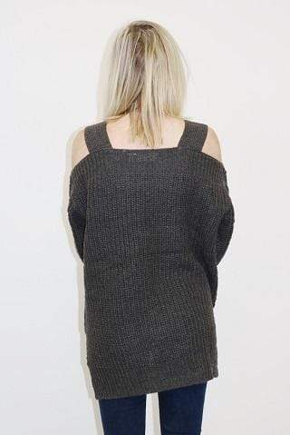 RD Style Sweater Small / Ash Grey / 69S5335 Hazel Sweater