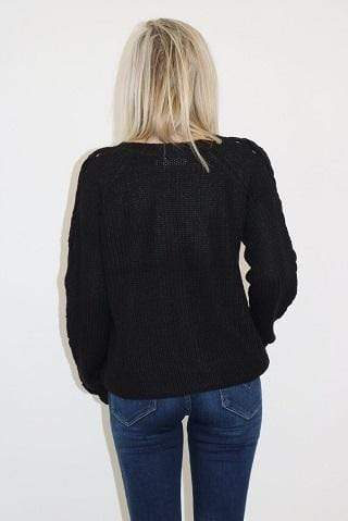 RD Style Sweater Small / Black / 69S1227S Hazel Sweater