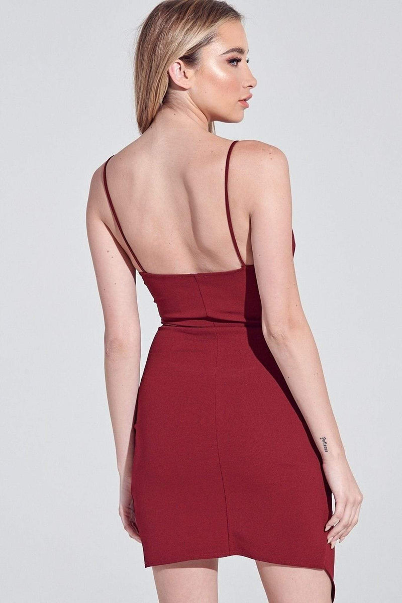 ReFine Dress Jasmine Mini Dress Wine