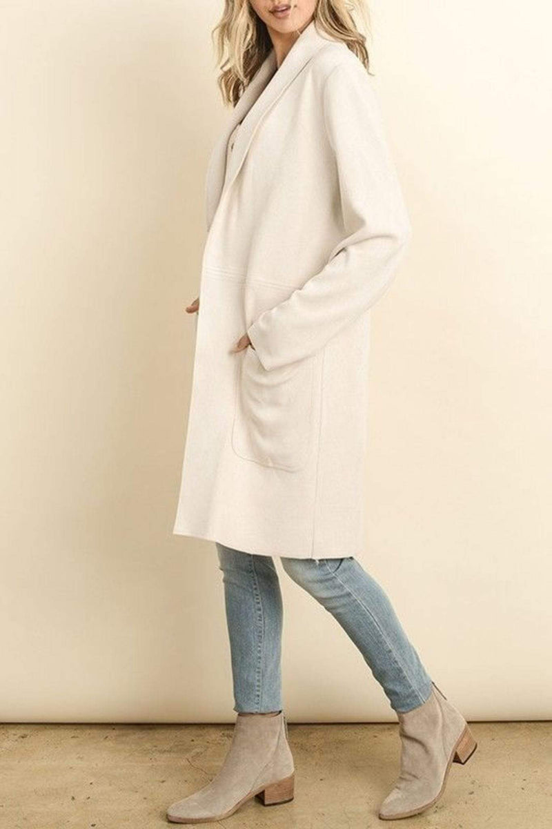 ReFine Jacket Eden Suede Jacket Ivory