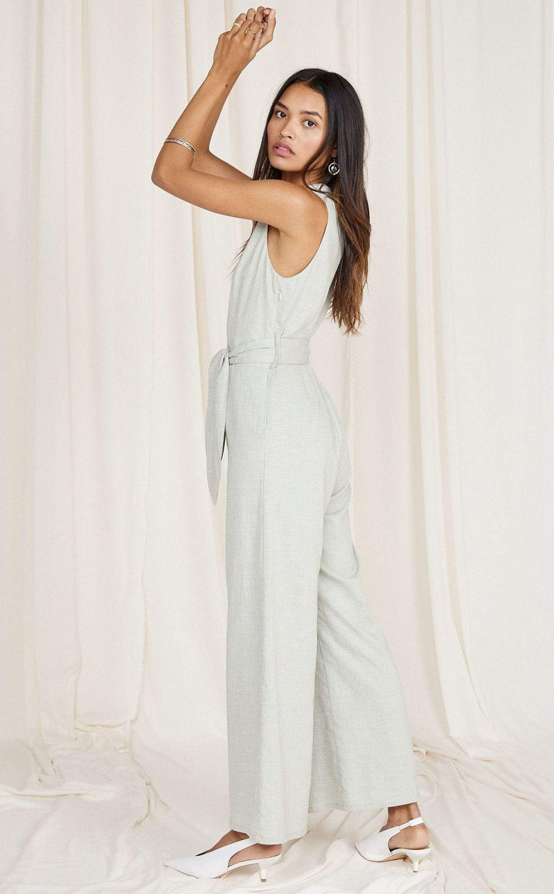 Sage the Label Dress Norah Jumpsuit Sage