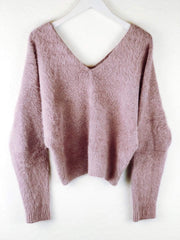 Sage the Label Sweater Small / Dusty Purple / CXT0155 Lover Lay Down Sweater Dusty Purple