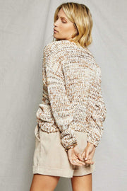 Sage the Label Sweater Zoey Sweater Beige Multi