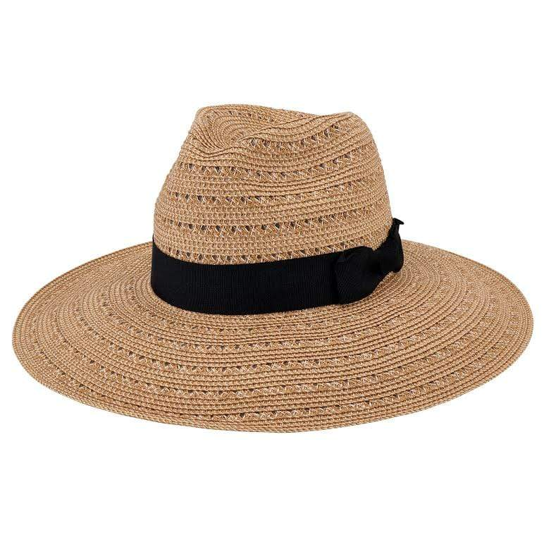 San Diego hat Comnpany Hat One Size / Natural/Gold / UBM4454 Any vacation hat