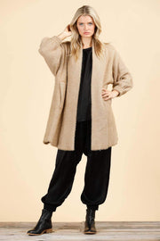 Shanty Jacket One Size / Tan / SH8441 Cozac Coat Tan