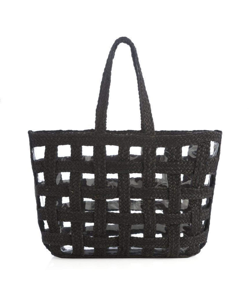 Shiraleah Bag One Size / Black / 01-37-055BLK Kai Raffia Tote Black