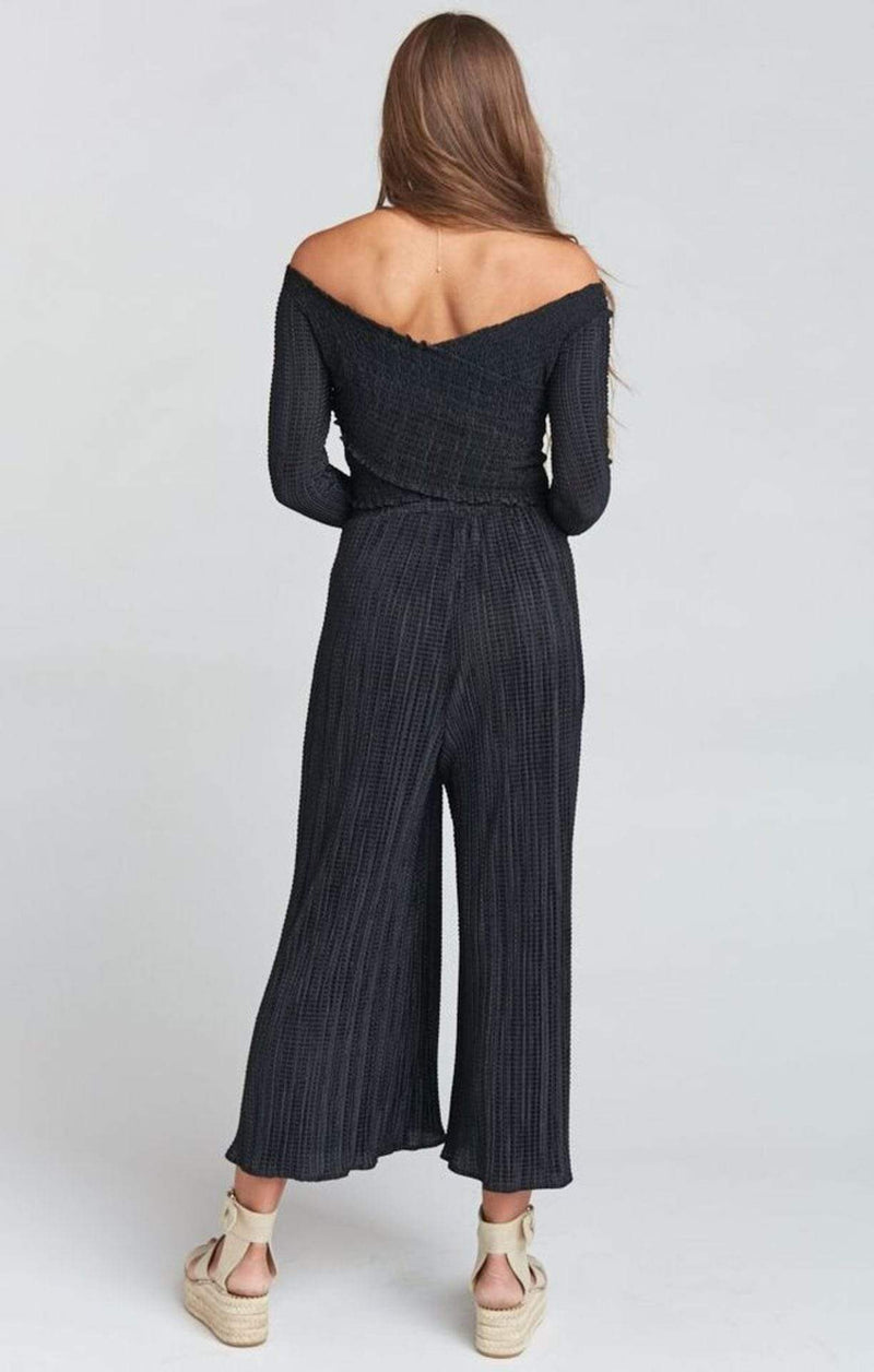 Show Me Your MuMu Bottoms Pioneer Pants Silky Scrunch Black