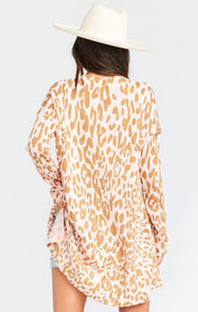 Show Me Your MuMu Sweater Small / Pink Leopard Knit / MS0-4067 Cliffside Sweater Pink Leopard Knit