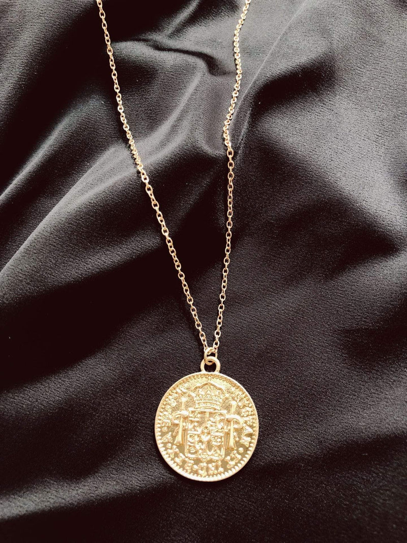 Amelia Coin Necklace