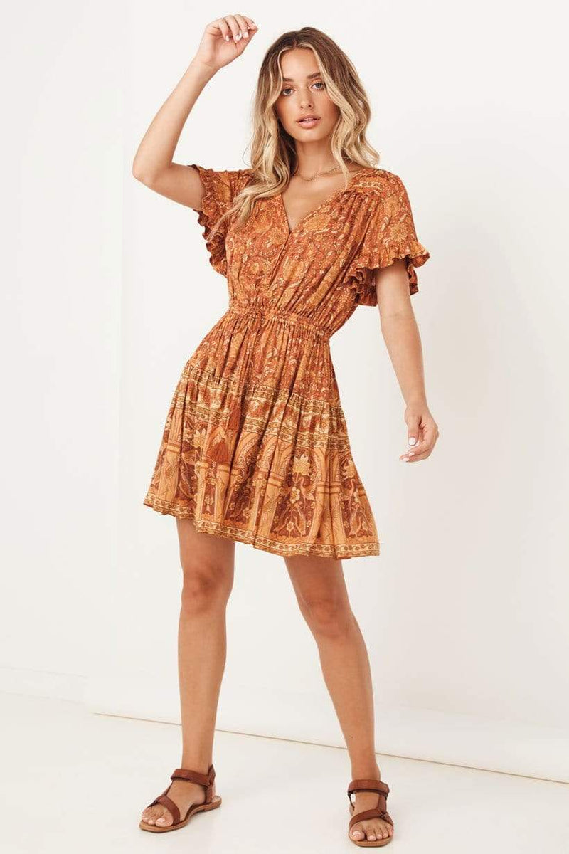 Sunwashed Playdress Copper