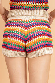 Stone & Salt Shorts Laina Crochet Shorts Multi