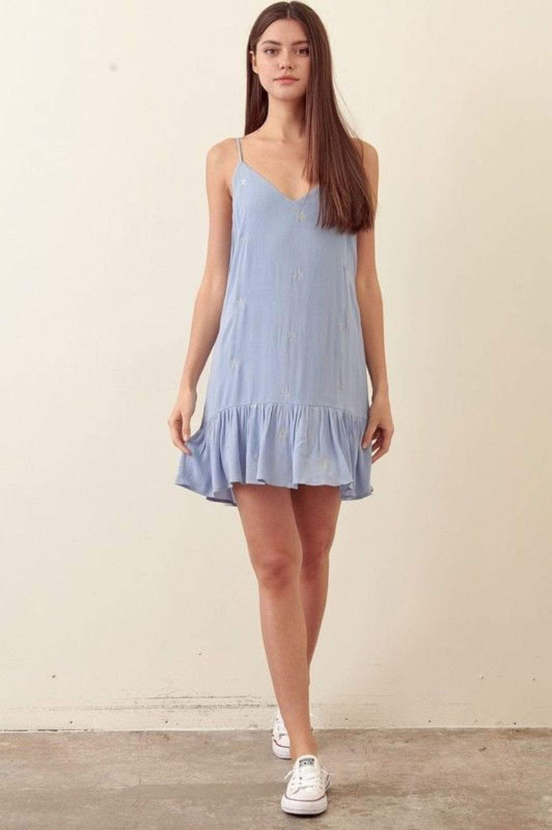 Storia Dress Astrid Starry Mini Dress Blue