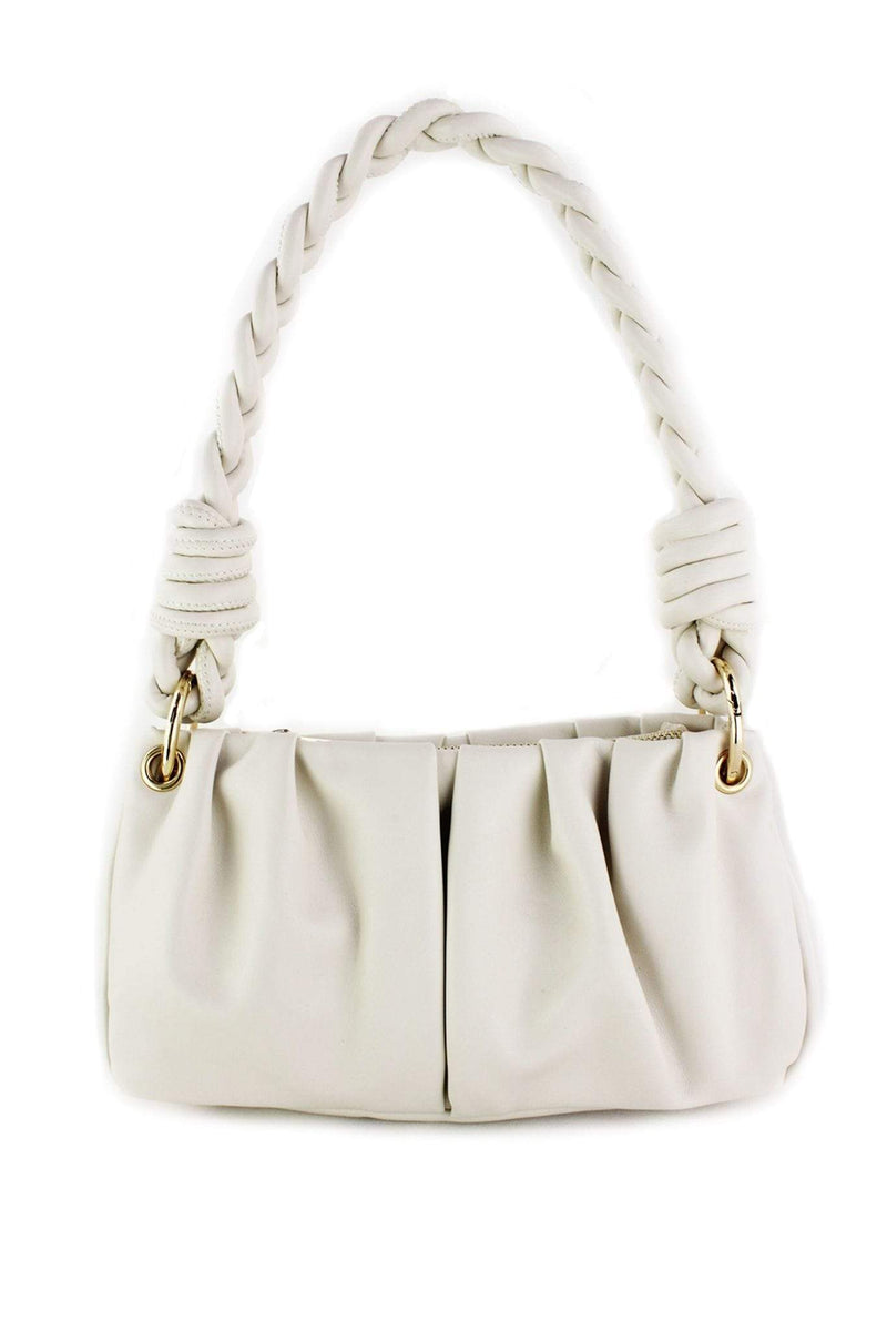 Street Level / Triple 7 Global Inc Bag One Size / Ivory / A1261 Avalon Rope Purse Ivory
