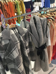 TCEC Jacket Soft Plaid Coat