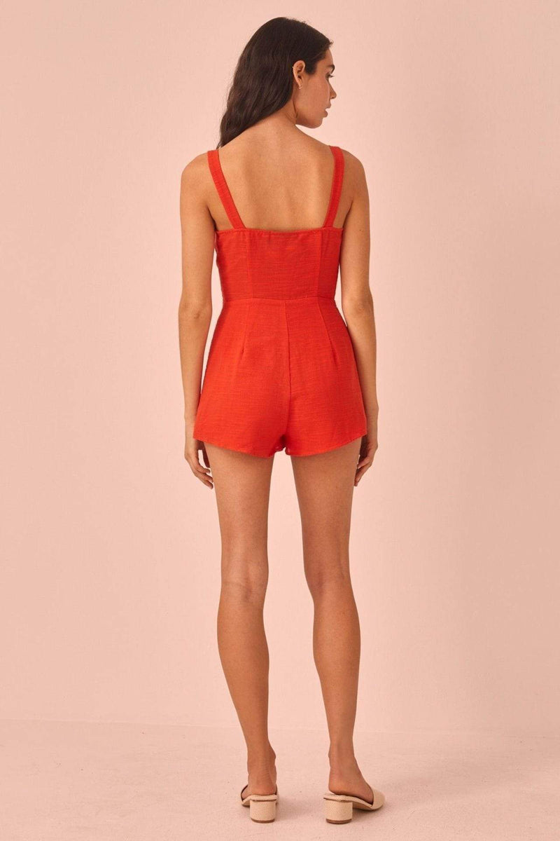 The Fifth Dress Realism Playsuit Morange