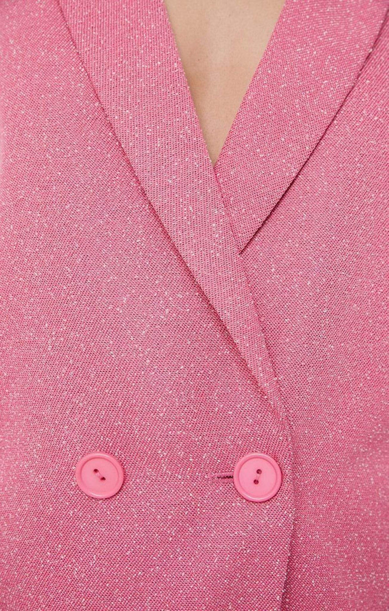 The Fifth Jacket X Small / Pink / 402001146 Core Blazer Pink