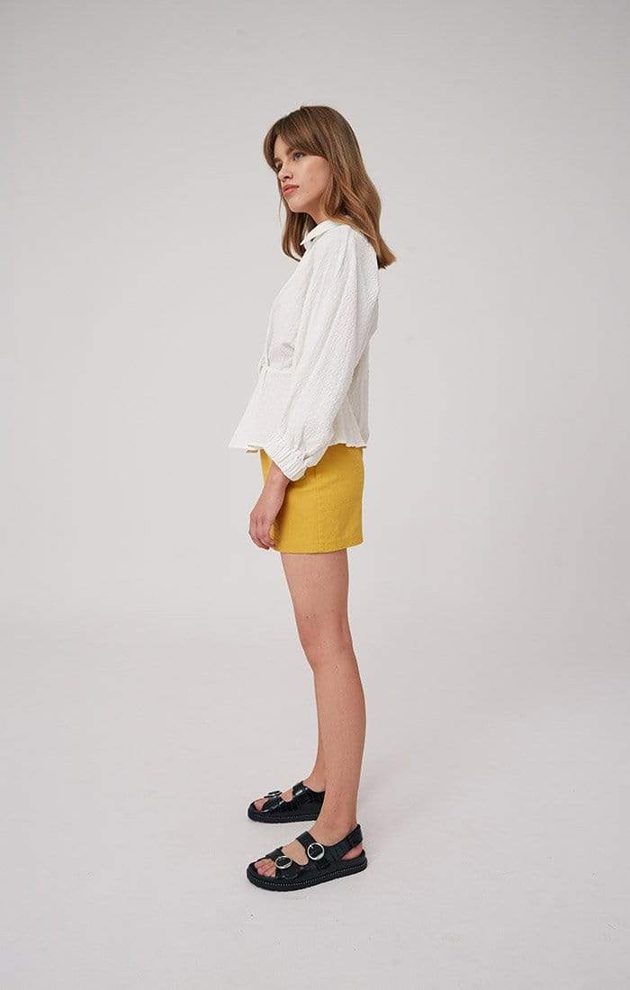 The Fifth Tops Blouse Atlas Light Top Ivory