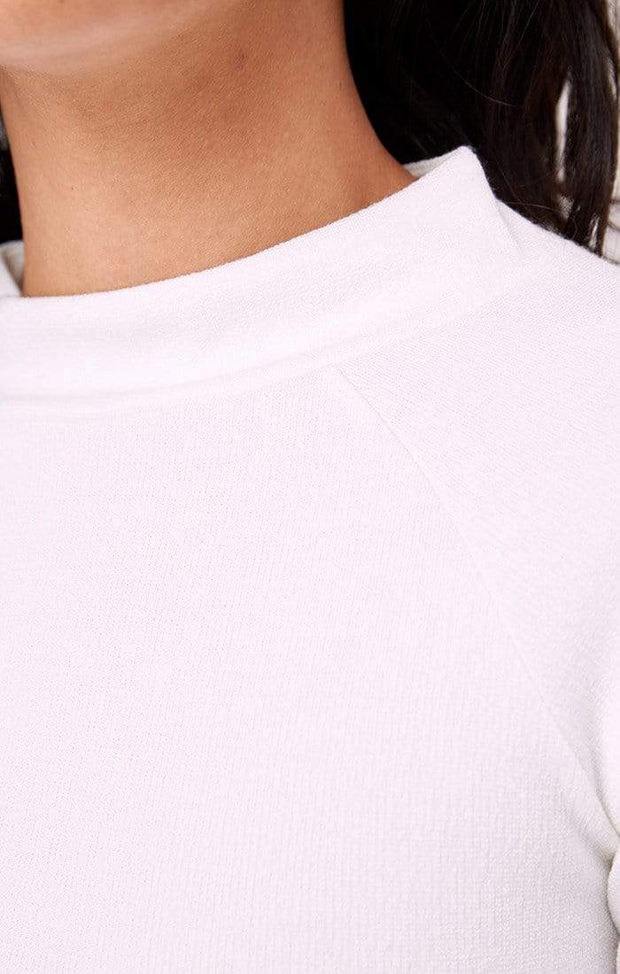 Thesis Long Sleeve Top Ivory