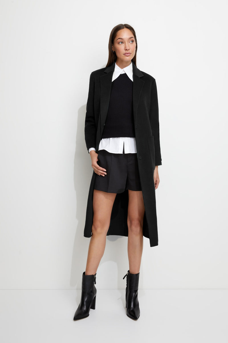 Unreal Fur Jacket Loving Coat Black