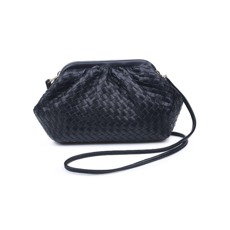 Urban Expressions Bag One Size / Black / 30038-Black Leona Woven Crossbody Black