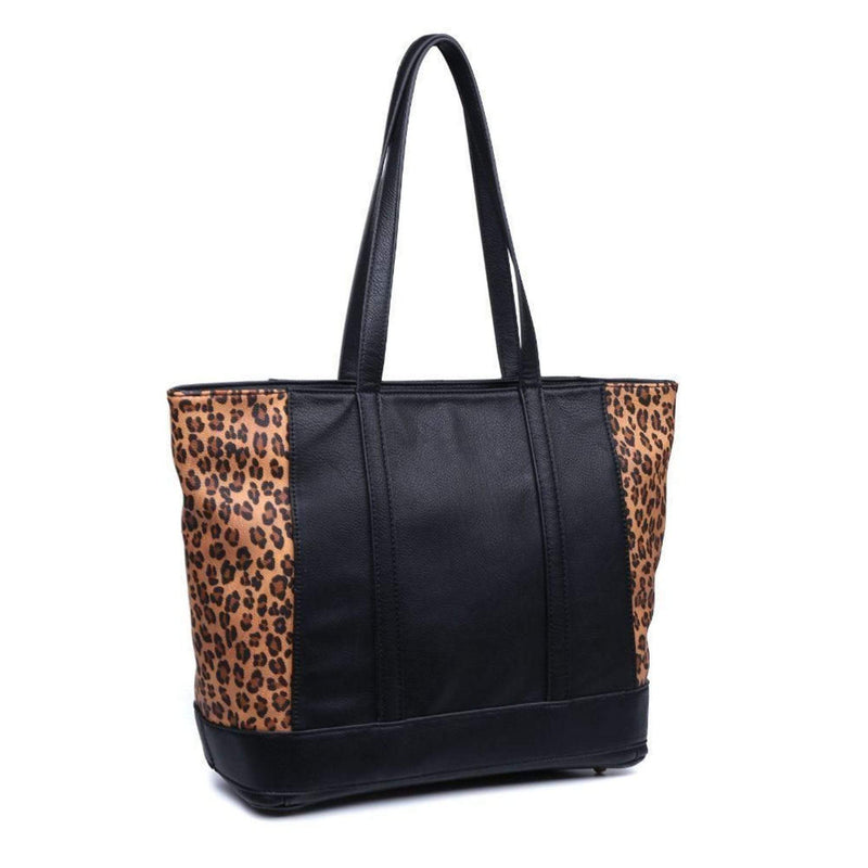 Urban Expressions Bag One Size / Black Leopard / 19041 Josie Tote Black Leopard