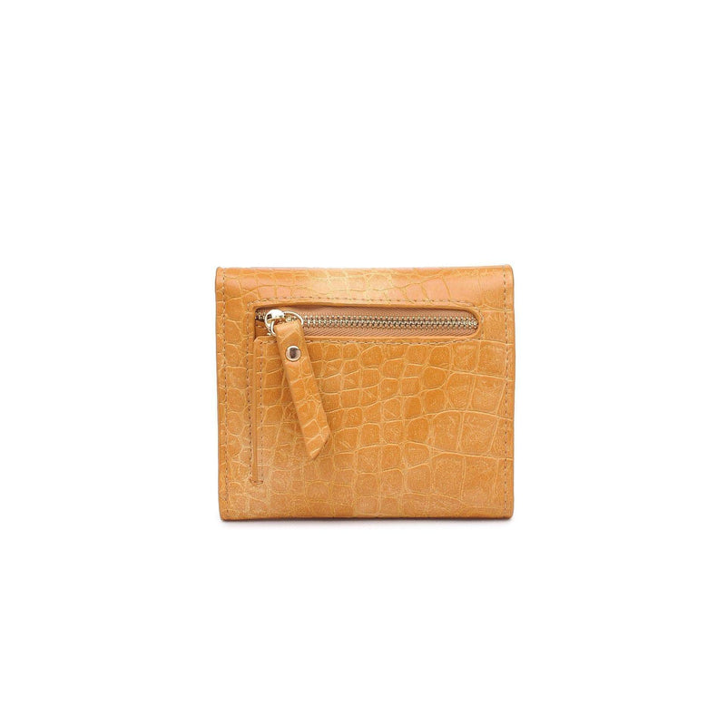 Urban Expressions Bag One Size / Mustard / 167336 Layla Croc Wallet Mustard