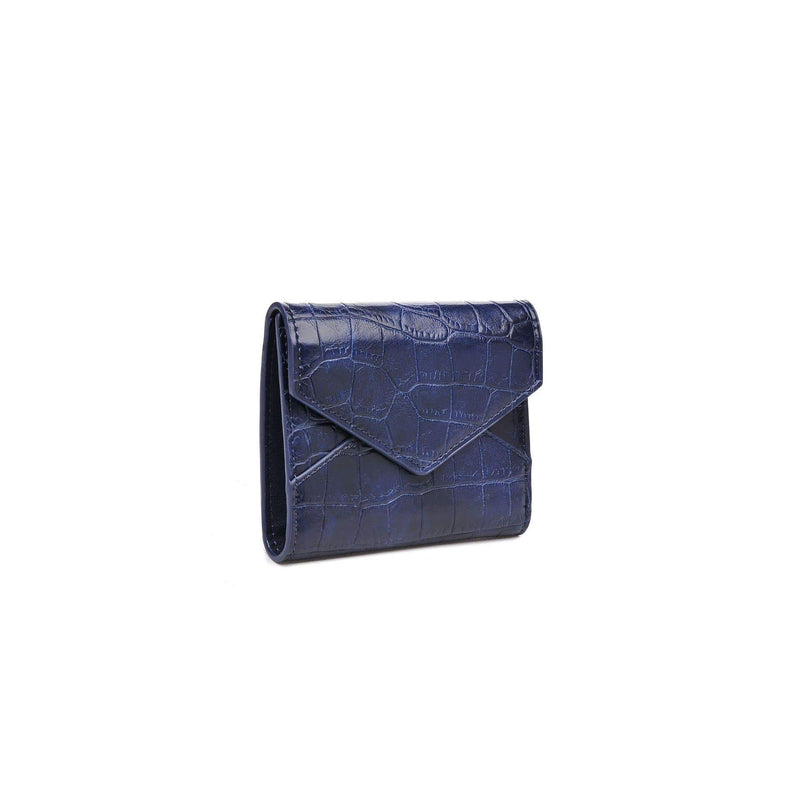 Urban Expressions Bag One Size / Navy / 167336 Layla Croc Wallet Navy