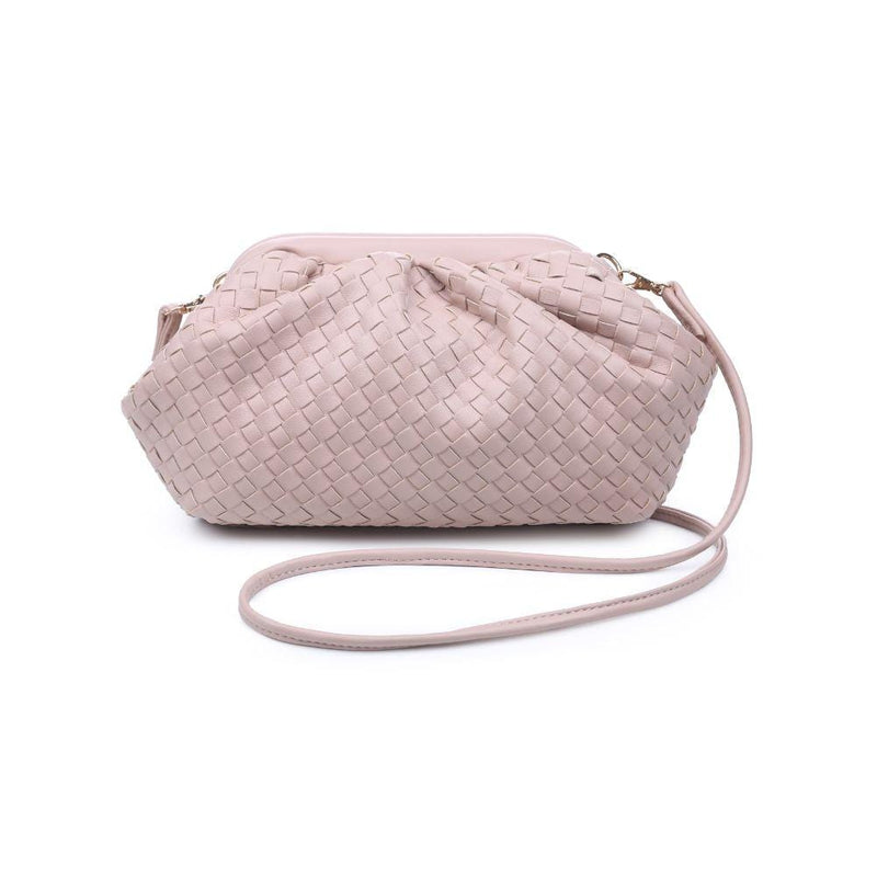 Urban Expressions Bag One Size / Nude / 30038-Nude Leona Woven Crossbody Nude