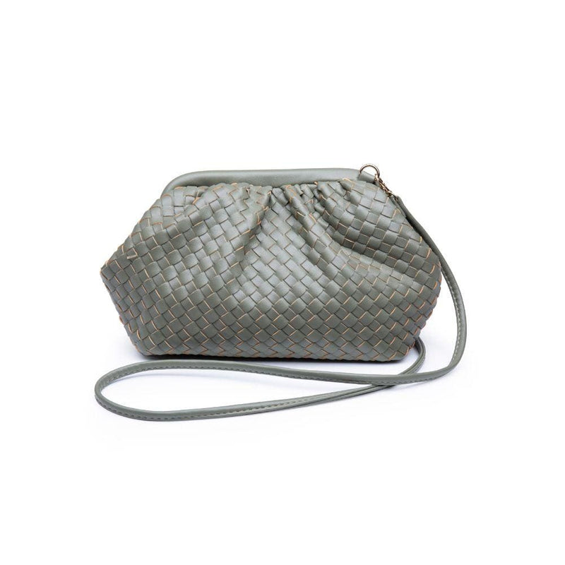 Urban Expressions Bag One Size / Olive / 30038-Olive Leona Woven Crossbody Olive