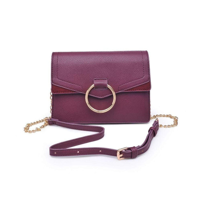 Urban Expressions Bag One Size / Plum / 21088P Ella Pebble Crossbody Bag Plum
