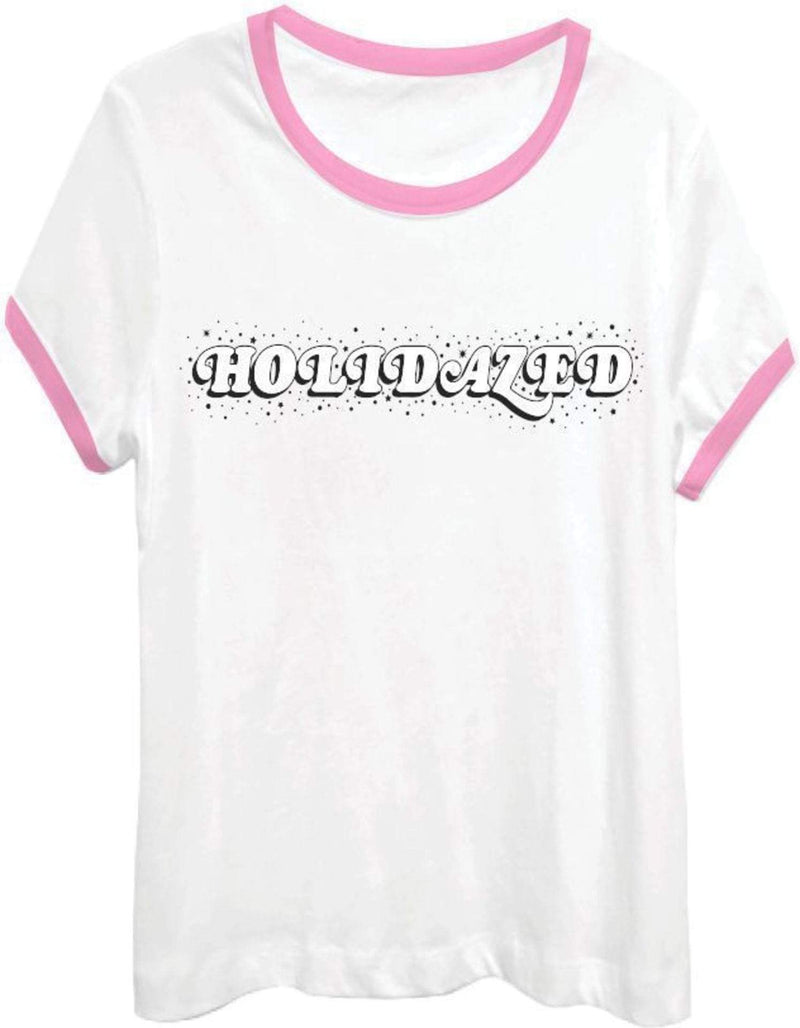 Wildfox Tee Casuals Small / Clean White / WTJ1882E8 Holidazed Tee