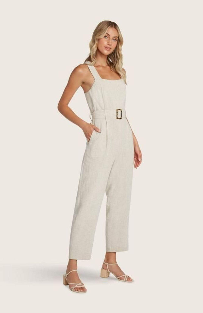 WILLOW AND CLAY Dress Johnson Jumpsuit Sand