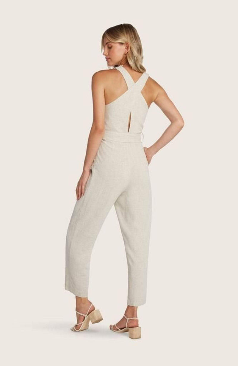 WILLOW AND CLAY Dress X Small / Sand / 120WD29211 Johnson Jumpsuit Sand
