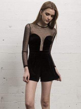 WYLDR Dress Rock the night Playsuit