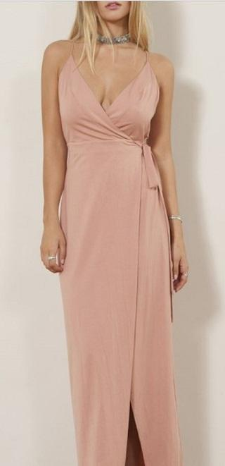 WYLDR Dress Wrap Over Me Maxi