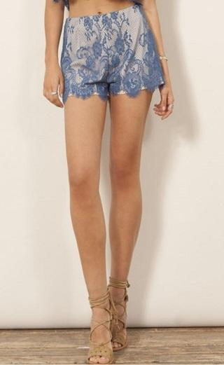 WYLDR Shorts Imagine Lace Shorts