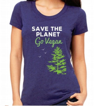 Save the Planet Women's tshirt