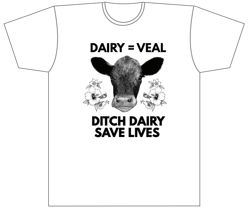 Dairy = Veal shirt - Female (White)