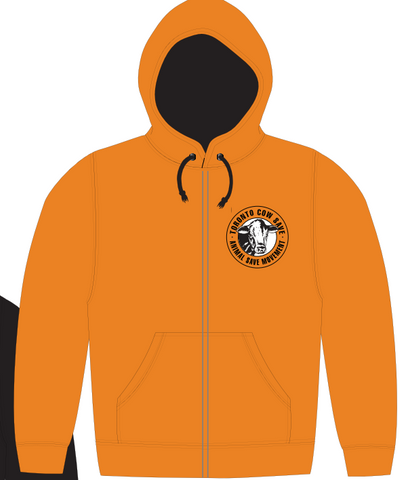 Toronto Cow Save Unisex Hoodie - Orange