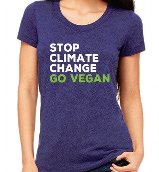 STOP CLIMATE CHANGE Women's tshirt